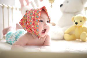 Lakewood teething baby